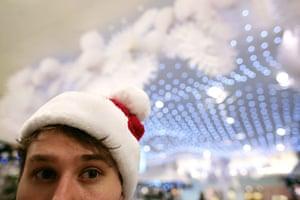 Selfridges Christmas shop: Selfridges Christmas shop opens