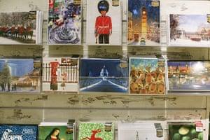 Selfridges Christmas shop: Selfridges Christmas shop opens Christmas cards at Selfridges