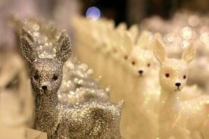 Selfridges Christmas shop: Christmas decorations in Selfridges