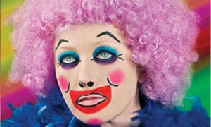 Flying colours ... Cindy Sherman, photographed as part of MAC Cosmetics's new makeup campaign.