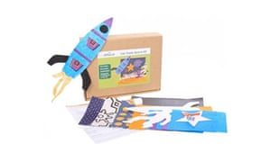 Crafts for kids: Fair Trade spaceship craft kid