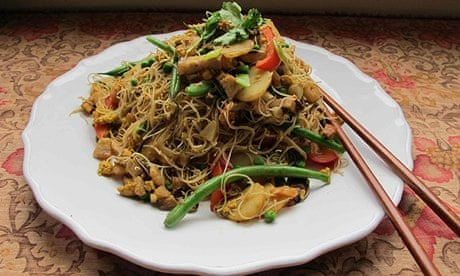 How To Make Perfect Singapore Noodles Food The Guardian