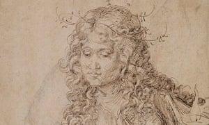 Albrecht Dürer's A Wise Virgin.