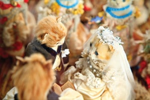Potters Museum : The Kittens' Wedding; circa 1890