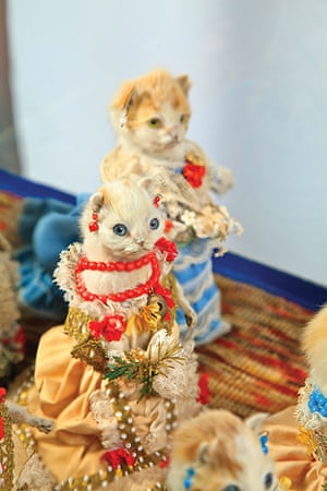 Potters Museum : The Kittens' Wedding; c 1890