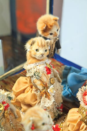 Potters Museum : The Kittens' Wedding; c.1890