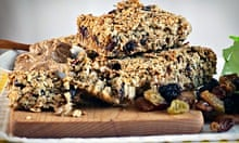 Readers' recipe swap: Kate Percy's three-grain energy bars