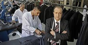 Recep Cesur, Saddam Hussein's tailor