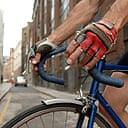 Matt Seaton on his bicycle