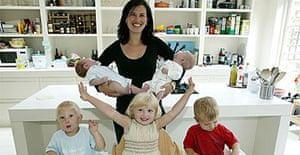 Suzi Telford and family