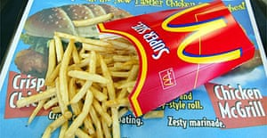 French fries / junk food / fast food / McDonalds / chips