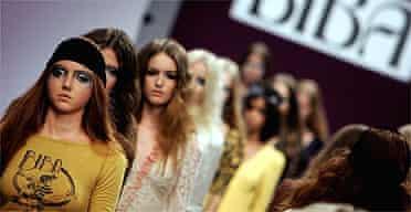 Fashion / catwalk / model / clothes / Biba