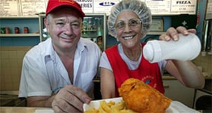 Fish & chips / chippie / junk food / fast food / take-away