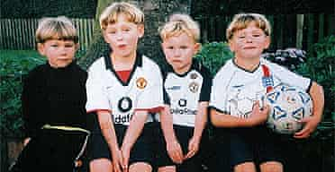 (From left) Callum, five, Joshua, seven, Daniel, three, and Thomas, six, who were killed by their father, farm labourer Keith Young.