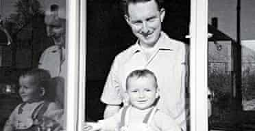Nick Coleman with his father, Roger.
