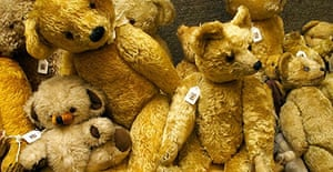 Teddy bear auction at Christies