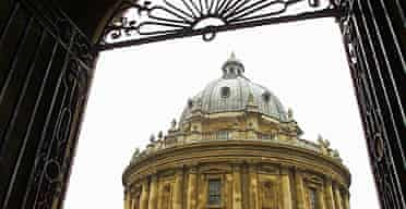 The Radcliffe Camera, part of the Bodlean Library, Oxford University