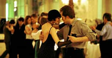 Dancing the Tango at the Waldolf Hotel