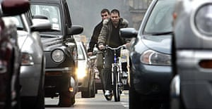 Traffic on Princes Street, Edinburgh