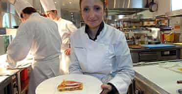 Anne-Sophie Pic, awarded the maximum three stars in the new Michelin Guide, the fourth woman ever to win the honor