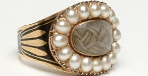 A mourning ring