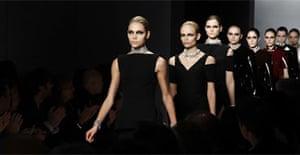 Balenciaga show at Paris fashion week