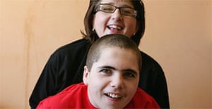 Emma Williams with her son Matthew