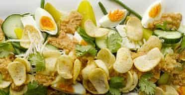 Egg salad / healthy food