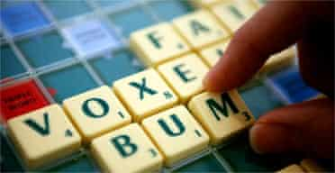 At the 36th National Scrabble Championship, Paul Allen plays the word 'bum'