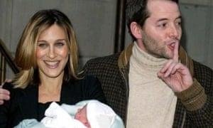 Sarah Jessica Parker with husband Matthew Broderick