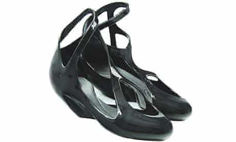 Zaha Hadid's shoes for Melissa
