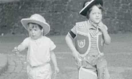 Daniel and Harriet Wistrich as children in 1960s London