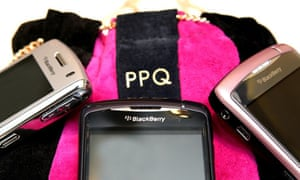 Blackberrys with PPQ pouch