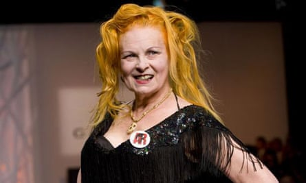 Vivienne Westwood at fashion for relief show London fashion week