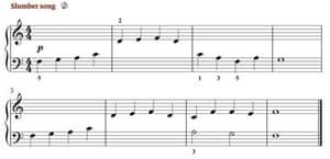 Lesson 2: Slumber Song