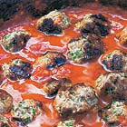Leon's Moroccan meatballs