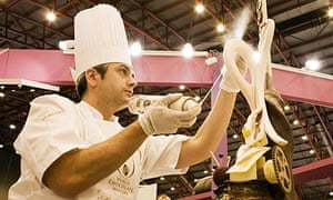 Mark Tilling at the UK Chocolate Masters