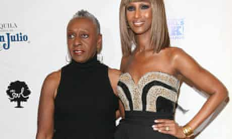 (L-R) Bethann Hardison and Iman attend the 3rd Annual Black Girls Rock! Awards on November 2, 2008 in New York City