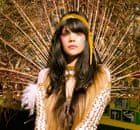 Bat for Lashes wears a headband