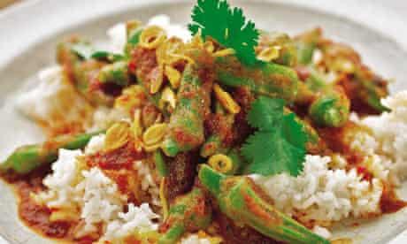 Yotam Ottolenghi - Coconut rice with sambal and okra
