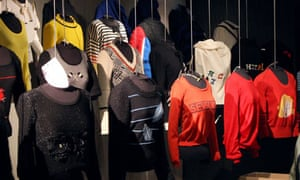 Jumpers at the Sonia Rykiel exhibition in Paris