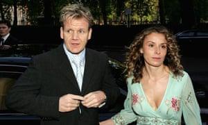 Gordon and Tana Ramsay in happier times