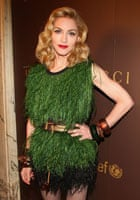 Madonna in feathers