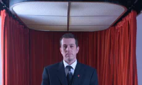 Spencer Lee, senior crematorium technician
