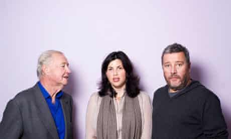 Sir Terence Conran, Kirstie Allsopp and Phillippe Starck