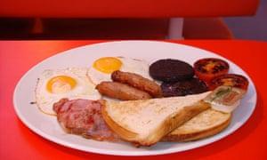 Heston Blumenthal's breakfast for Little Chef