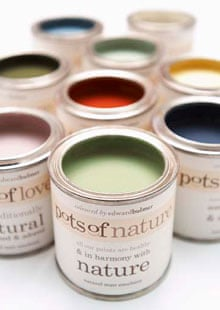 A guide to eco and natural paints | Life and style | The Guardian
