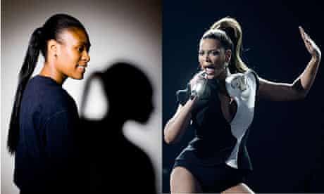 Carlene Bailey-Thomas (left) and Beyonce