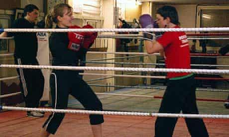Rachel Platt boxing