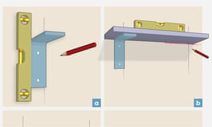 Image result for putting shelf up brackets